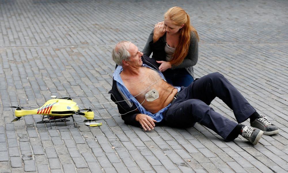 A mentőnél is hamarabb ér ki az életmentő drón
