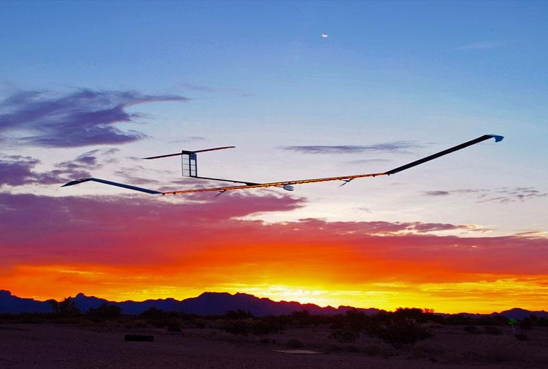Örökké repül a napelemes drón